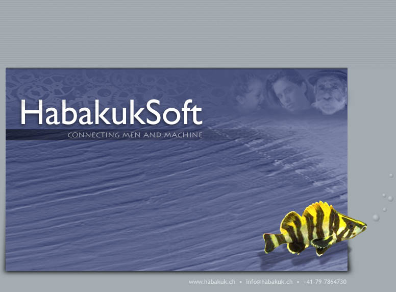 Welcome to HabakukSoft - your partner for custom tailored software and systems !